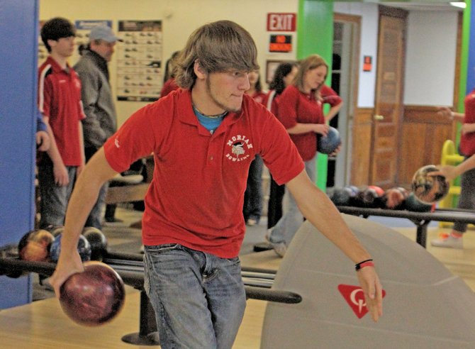 Dillon Adkins rolled a 408 series, but Moriah lost to Beekmantown, 10-0, in Champlain Valley Athletic Conference bowling Jan. 9.