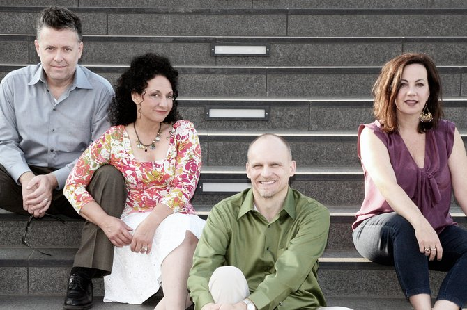 The New York Voices, a Grammy Award-winning jazz vocal group, will perform on Feb. 2 at Shaker High School for a benefit concert in member Kim Nazarian's hometown.