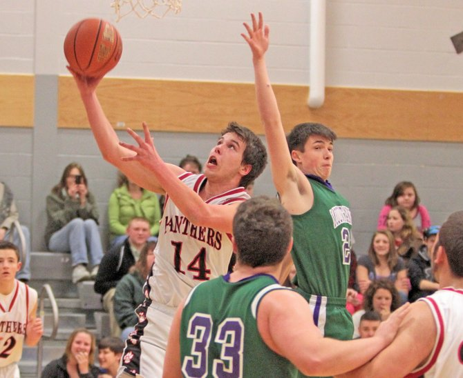 Mike Gould had 19 points and 11 rebounds for Crown Point as it rolled past Minerva-Newcomb, 63-33, in Mountain and Valley Athletic Conference boys basketball action Jan. 11.