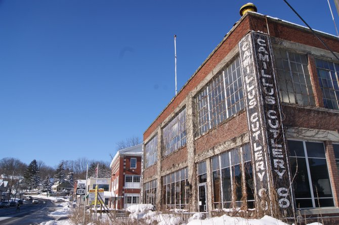 The Camillus Cutlery plant was sold at auction in October. The closing on the building is expected soon.