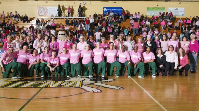 The Siena College women's basketball team will play its 12th Pink  Zone Game to support CRAAB!, a Capital District breast cancer nonprofit organization on Friday, Jan. 20.