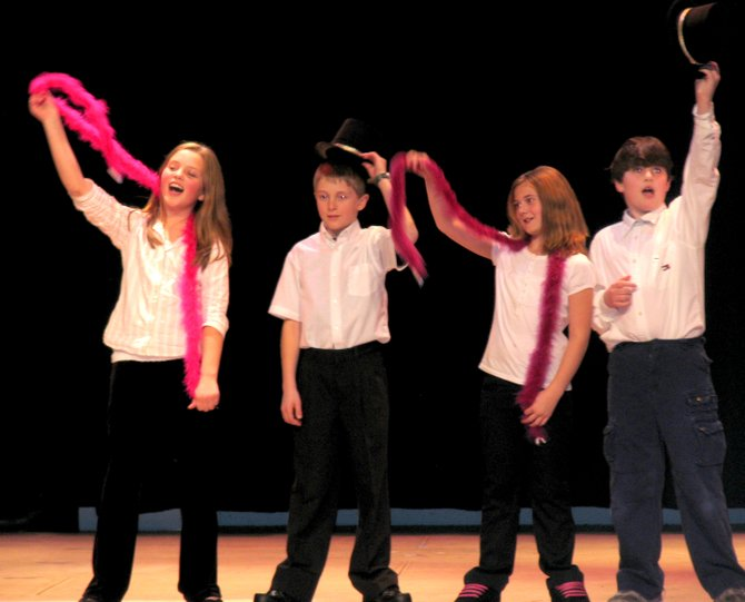 A group of North Warren Middle School students perform during the 2008 edition of the biannual North Warren Variety Show. A talent search was launched this week for this year's show, to be held Friday, March 2.