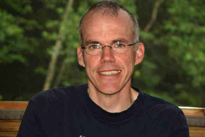Environmentalist Bill McKibben is smiling after President Barack Obama denied approval for the 1,711-mile, Canada-to-Texas Keystone XL oil pipeline.