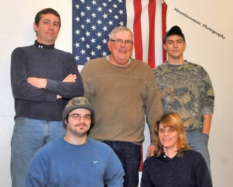 The Chilson Volunteer Fire Company has elected officers for 2012. Elected were, front,  First Lieutenant  Jake O&#39;Hara, Third Assistant and Safety Officer Chief Casie Hunsdon; back, Chief Steve Hunsdon, Second Assistant Chief Mike Trybendis and Captain Cody Duval.