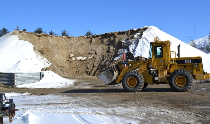 Sand reserves will run out by the end of next winter, said Johnsburg Highway Superintendent Dan Hitchcock. The town's highway department runs through 10,000 cubic yards of the material yearly adding traction to icy roads.