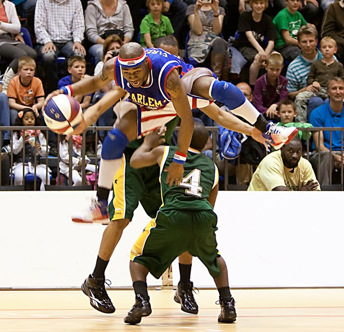 Tay Fisher, a former Siena Saint, is now a member of the Harlem Globetrotters.