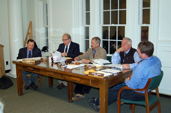 The Saranac Lake Village Board of Trustees voted to close the study started in 2008 that may have move the municipality towards becoming a city.