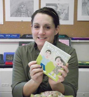 "Lisa Benanto wrote and illustrated ""I Have a Brother"" to help explain autism to her daughter and other young children."
