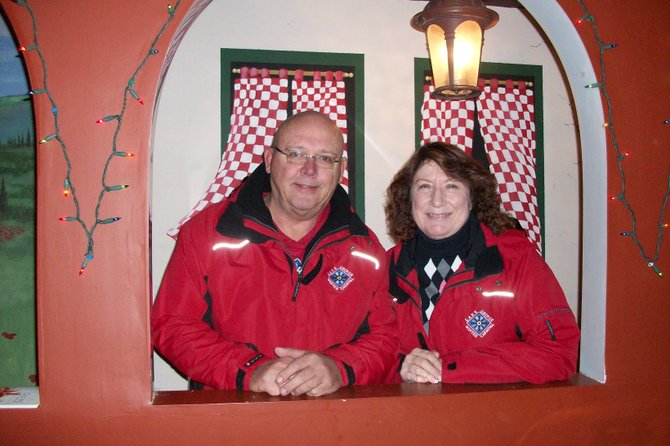 Ed and Kathi Kokalas have devoted countless hours over the years to building the success of the Lake George Winter Carnival. Their dedicated volunteer efforts are to be recognized at the Carnival's Kickoff Gala Dinner-Dance, to be held Saturday Jan. 28 at Dunham's Bay Resort on Lake George.