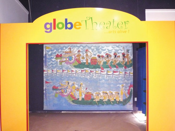 Different galleries at the museum allow kids to explore aspects of cultures around the world.
