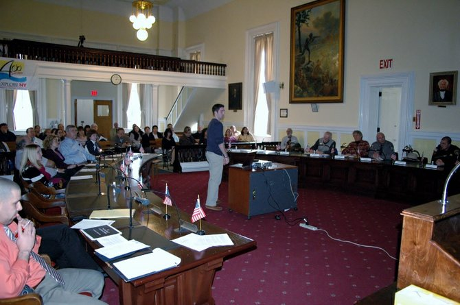 A full audience attended the Bringing Essex County Strengths Together (BEST) Committee meeting at the Old Courthouse in Elizabethtown Feb. 1.