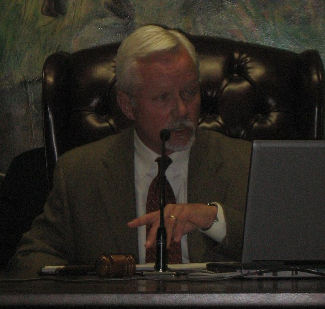 Mayor Scott Johnson questions the urgency of a meeting called Thursday afternoon.