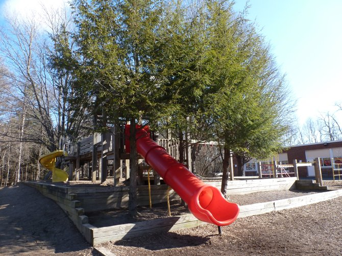 The current Elsmere elementary playground.