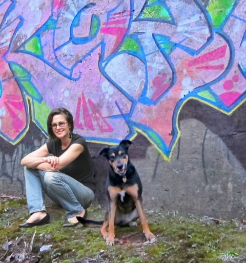 Pattit Mollica, an artist based near New York City, will demonstrate her bright and colorful paint style at an event at Colonie Town Hall on Tuesday, Feb. 7.