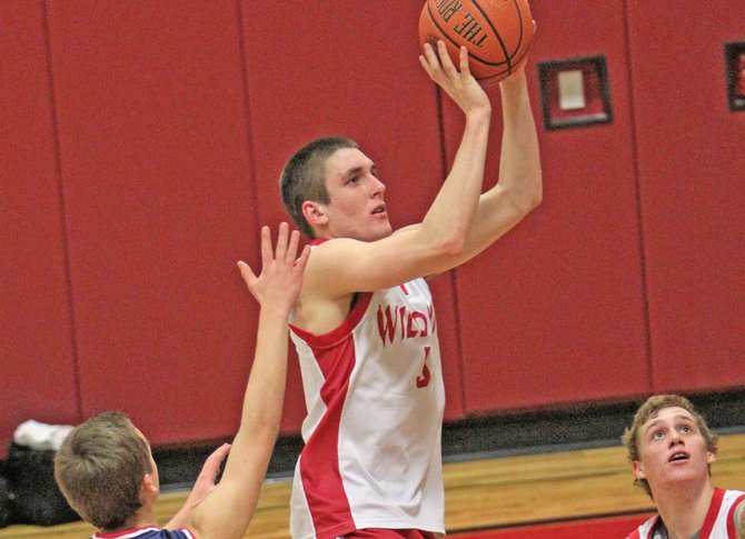 Jesse Shaughnessy led Schroon lake to an 89-42 win against Wells in Mountain and Valley Athletic Conference boys basketball play Feb. 3. He had 31 points, 13 rebounds and 12 assists.