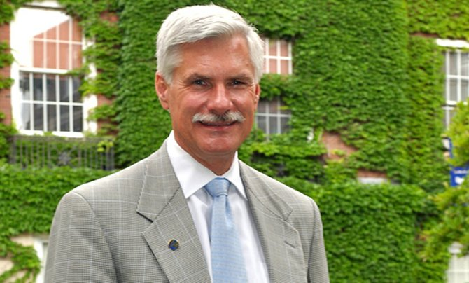 Dr. David Smith, president of Upstate Medical University
