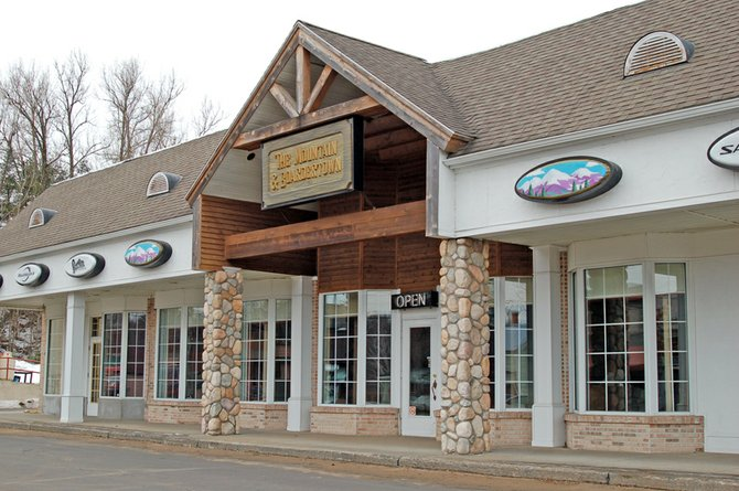 The former Mountain and Boardertown ski shop in North Creek will be turned into The Exchange at North Creek, a store offering a variety of products made around the region.
