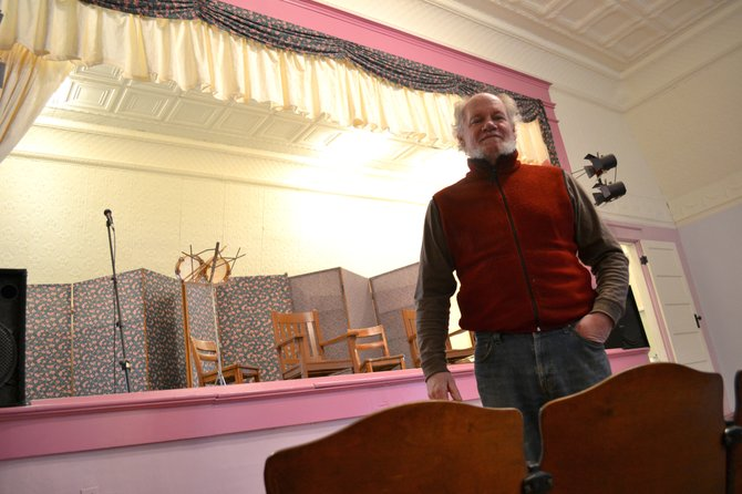 New Ellenburg Supervisor said the town hall and theater will play a vital role in community events, which the townspeople have told them aren't nearly as common as they should be.