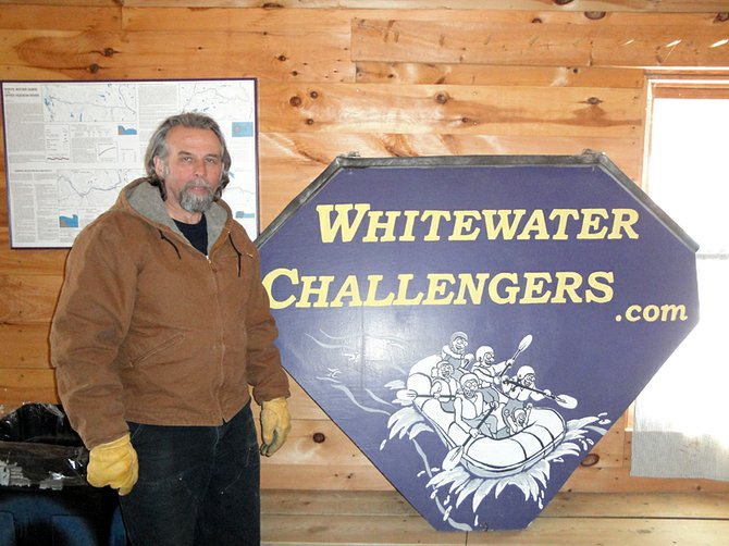 Marko Schmale, of Whitewater Challengers in North River