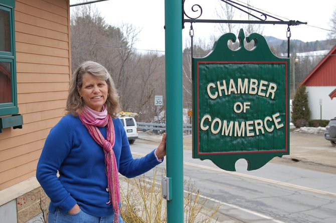 Pat Hamilton, director of the Gore Mountain Region Chamber of Commerce