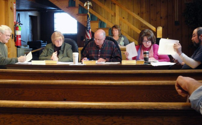 The Tupper Lake town board met Feb. 13.