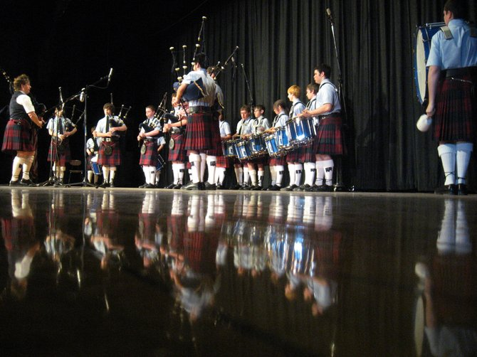 Scotia-Glenville Pipe Band members take the stage at Scotia-Glenville High School during the 2009 Celtic Jam. The band is hosting its fifth annual event on Friday, March 2, at the high school.