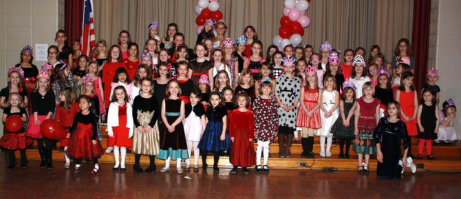 The second annual Daddy Daughter Dance saw nearly 200 participants, tripling its participation from a year ago.