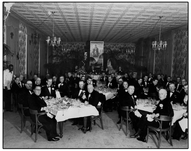 Annual Dinner, 1953 – back in the day.