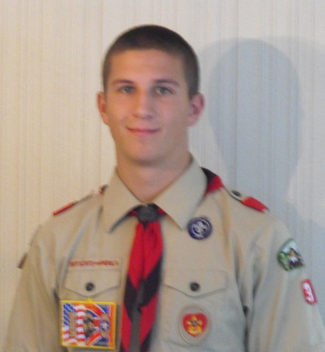 When Chris Veverka receives his Eagle Scout award he'll be doing more than reaching the pinnacle of scouting. He'll be carrying on a family tradition.