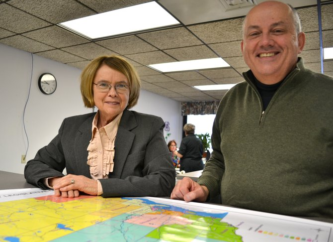 Clinton County towns have closed a number of polling sites — a move enabled by modern technology and encouraged by cost savings, said Board of Elections Commissioners Susan Castine and Greg Campbell.