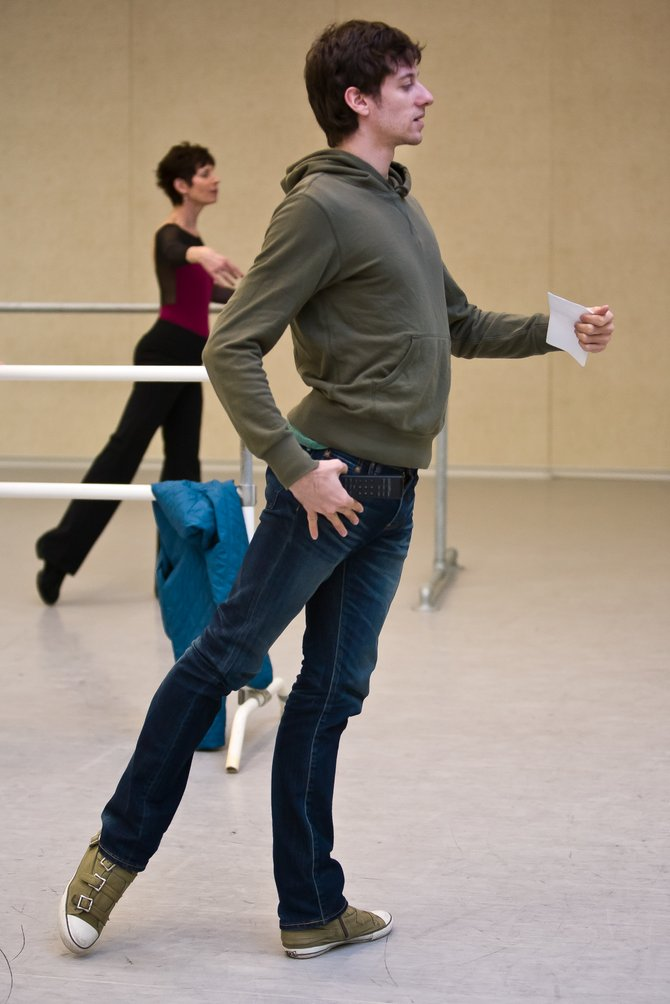 Andrew Scordato,dancer with the NYC Ballet.