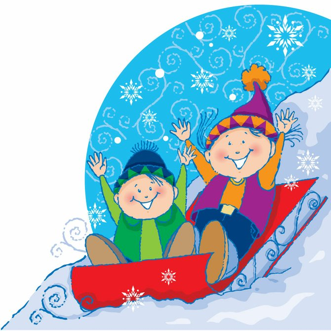 Starting a new family tradition can be as easy as making it a point to go out sledding as a family after the first big snowfall.