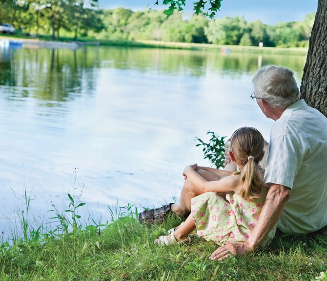 There is actually a body of research that confirms personal experiences with nature are essential to healthy physical and emotional development.
