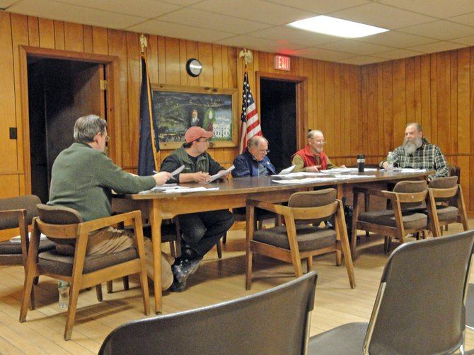 The Johnsburg Town Board, March 2012