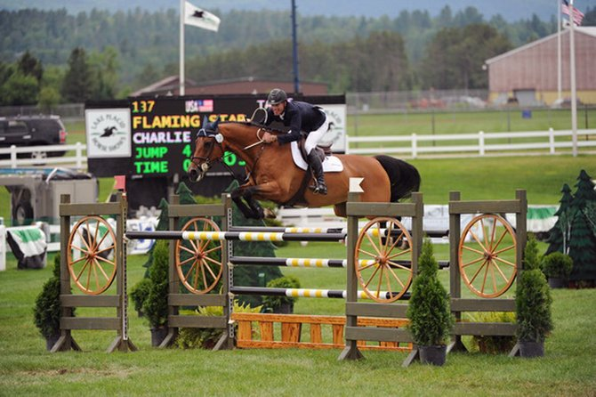 The Lake Placid and I Love New York Horse Shows return to Lake Placid June 26 through July 8.
