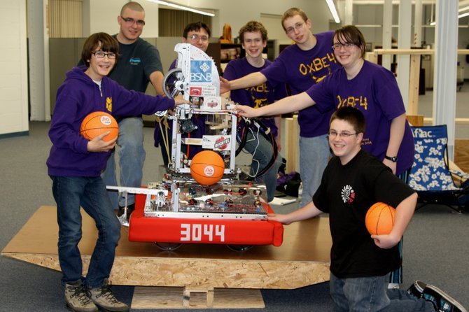 Team 3044's robot is a fine tuned machine, and so is theBallston Spa robotics team that built it. They'll be heading to the FingerLakes FIRST Robotics Regional Competition at Rochester Institute of Technologyto put their robot through its paces with other high school teams. (Photo submitted)
