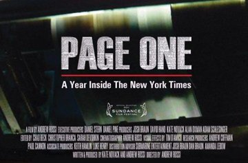 """Page One: A Year Inside the New York Times,"" will be one of the Films featured at the Champlain Valley Film Society's Spring movie series."