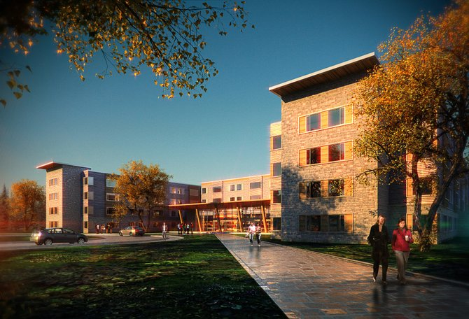 The student housing complex to be constructed at SUNY Adirondack will feature approximately 400 beds, divided into suite-style living accommodations. The project is expected to cost $25.5 million, and the complex is expected to host students beginning fall 2013.