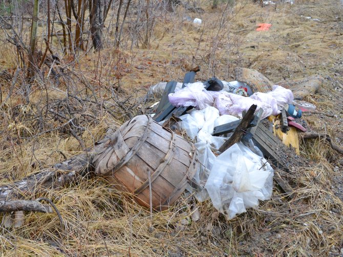 Heaps of trash, tires and deer carcasses litter the sides of Brunell Road in Altona, a problem Supervisor Larry Ross said is documented as early as the &#39;80s.