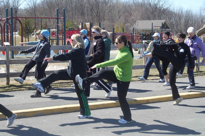 Participants complete a 10-week training program that teaches them to run three miles gradually.