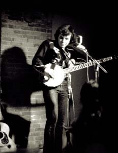 "Don McLean, famous for ""American Pie"" among other songs, at CafféLena, circa 1970. An effort to document and restore the venue's records is underway, and hoped to be completed in 2013 in time for what would be Lena Spencer's 90th birthday."
