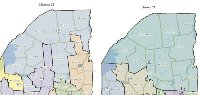 The North Country is a more unified political landscape under a Congressional redistricting plan enacted March 19.