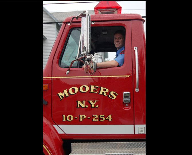 An Easter raffle at the Mooers Fire Department March 31 will support their equipment fund.