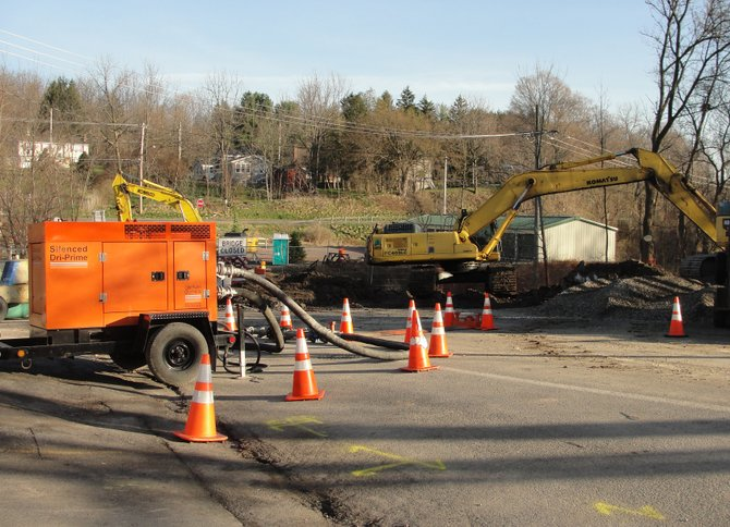 Following a water main break on Clark Street, all academic buildings in the Cazenovia Central School District were closed for Thursday, March 22. While middle school and high school students will return to classes Friday, March 23, Burton Street Elementary School will remain closed.