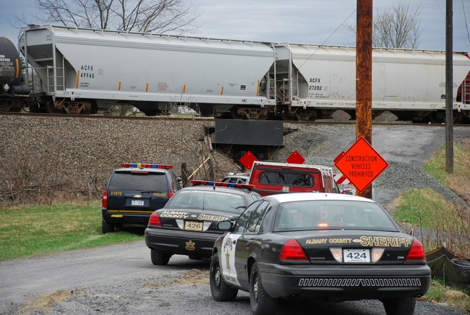 Police said the death of a 23-year-old Delmar resident on Saturday, March 24 was ruled a suicide after the male laid down on the tracks.