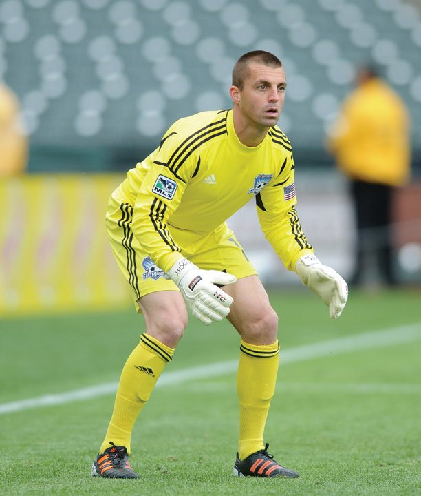 Guilderland High School graduate Jon Busch is playing his third season with the San Jose Earthquakes.
