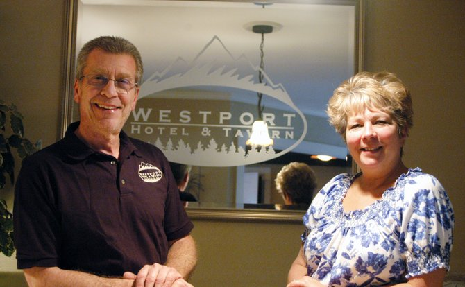 Owners Jim and Jayne Vance of the Westport Hotel and Tavern.