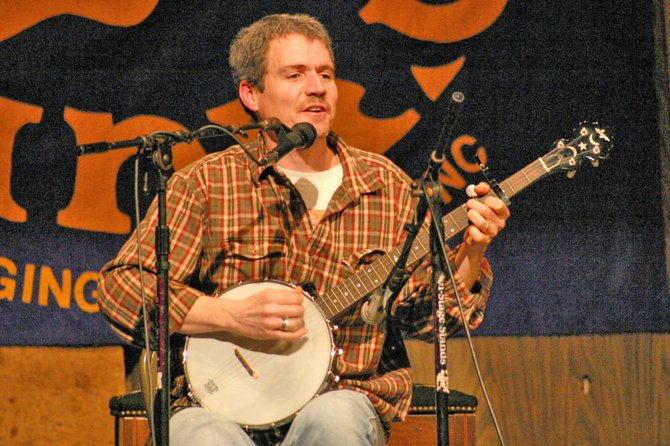 Folksinger Dave Ruch will offer a concert Friday, May 4, at 7 p.m. at the Ti Community Building. The concert will be free and refreshments will be served.