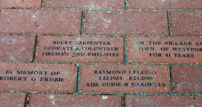 Brick pavers will again be sold in the town of Westport to be placed along Main Street.