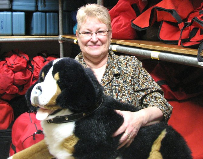Janet Stark is an instructor for the pet first aid class offered by the Red Cross on Wednesday, April 25.